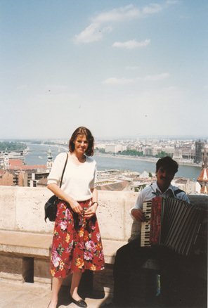 In Budapest for the Daily Mail, June 1994